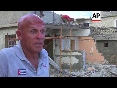 Cubans begin to rebuild after Hurricane Irma