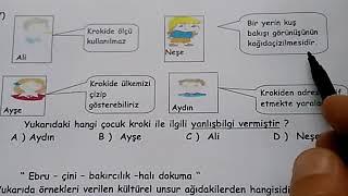 4.sınıf 1.dönem sonu deneme sınavı (Sosyal bilgiler) Video