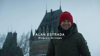 Baixar La ciudad de Quebec con nieve!!! Alan por el mundo