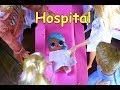 LOL SURPRISE DOLLS Sparkles Is Allergic To Peanut Butter And Goes To Hospital!