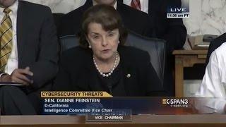 Feinstein on NSA, cybersecurity threats