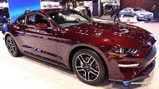 2018 Ford Mustang Ecoboost Coupe Premium - Exterior and Interior Walkaround - 2018 Chicago Auto Show