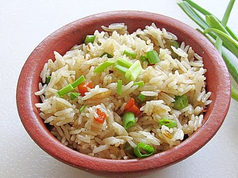Easy Vegetable Fried Rice Recipe – How To Make Restaurant Style Vegetable Fried Rice | Nisa Homey