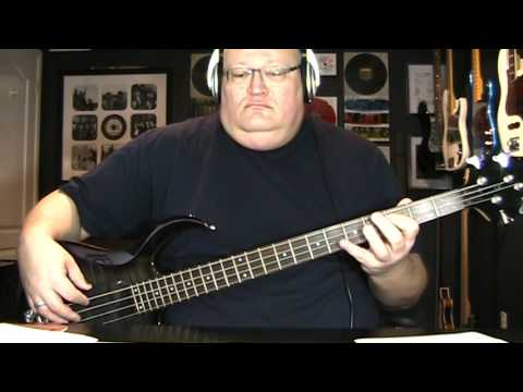 Hall & Oates Maneater Bass Cover with Notes & Tablature