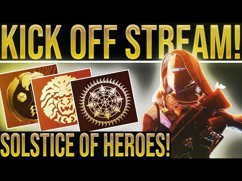 Destiny 2 SOLSTICE OF HEROES KICK OFF! New Loot, Objectives, New Tower Area, 400 Power Gear & More!