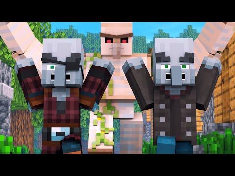 Villager vs Pillager Life 2 - Minecraft Animation