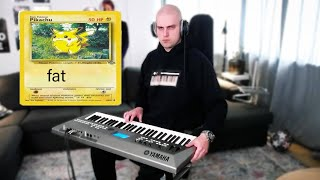 i played the pokémon theme song, but put way too much effort into the video