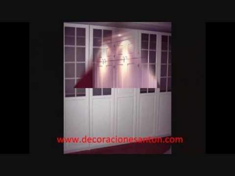 Puertas frentes interiores de armario tarimas for Puertas de aluminio para interiores de casas