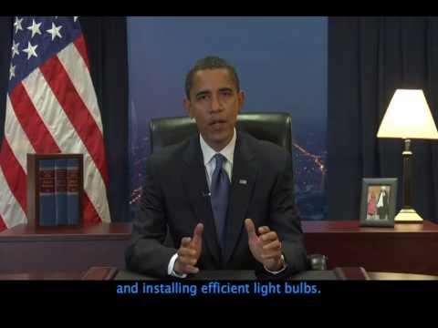 Pres-Elect Obama's Weekly Address, Dec. 6 (CAPTIONED)