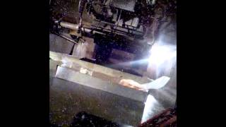 Video taken by an lg optimus s sent through an industrial irradiator