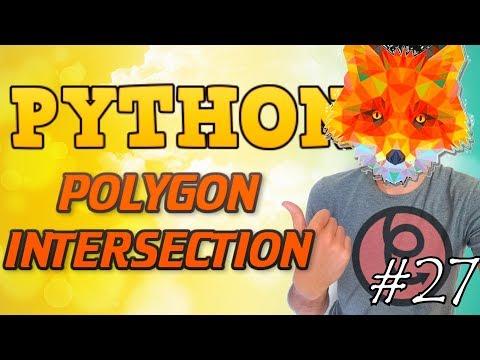 Python tutorial 2019 #27 POLYGONs INTERSECTION ALGORITHM thumbnail