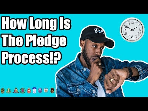 HOW LONG IS THE PLEDGE PROCESS!? | NPHC ADVICE