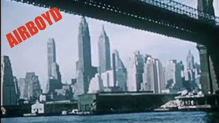 TWA Travelogue - New York City (Ca 1956)