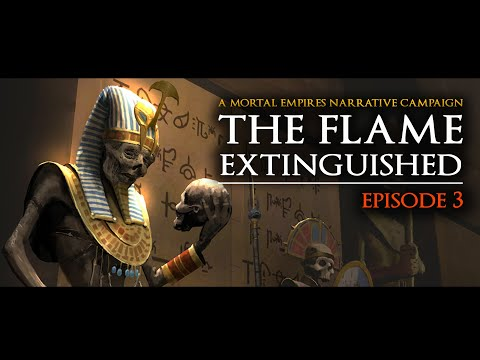 Arkhan the Black NARRATIVE CAMPAIGN - EP 3: THE FLAME EXTINGUISHED - Total War: Warhammer 2 |