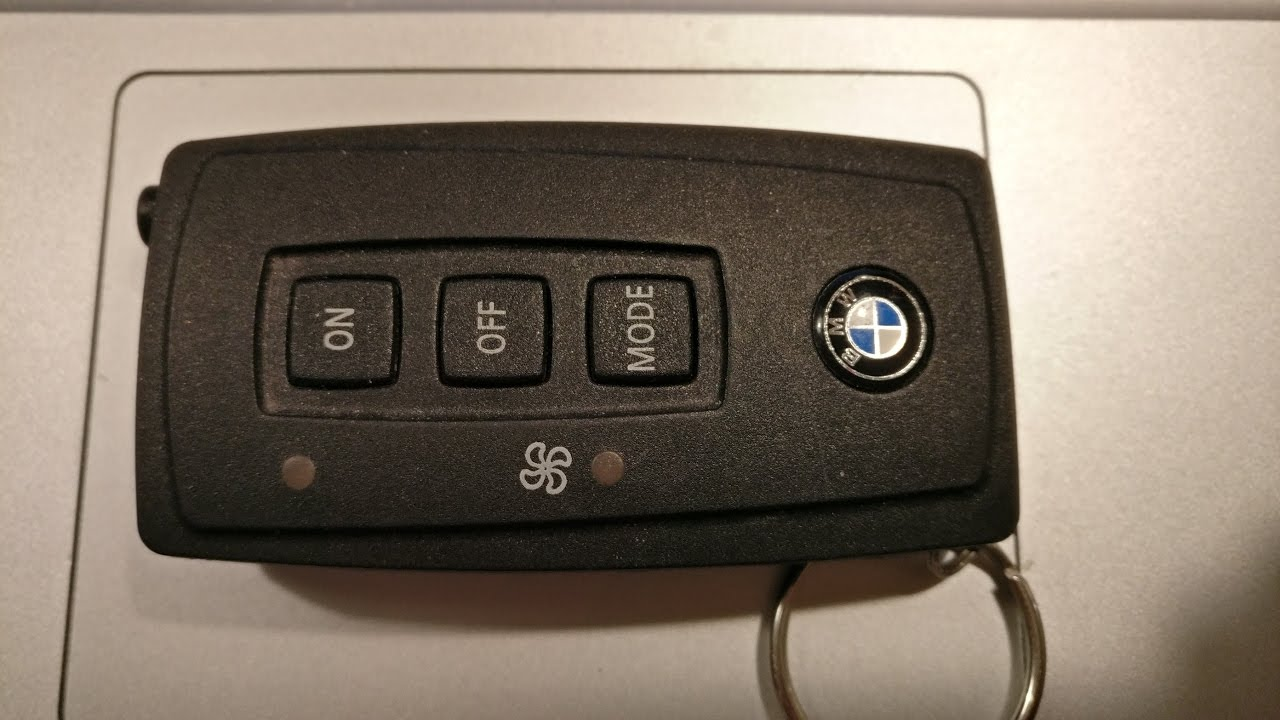 how to pair parking heater webasto remote on bmw e61