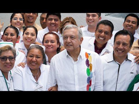 Diálogo con la comunidad del Hospital Rural Jáltipan, desde Veracruz