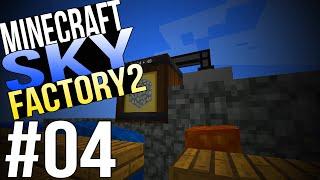 Auto-Cobblestone e Tool Forge[EP04]Sky Factory 2 Minecraft Modpack[1.7.10 PT-BR]