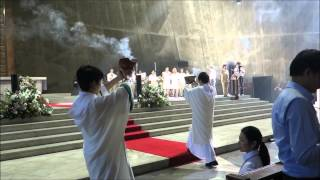 International Mass in Tokyo Cathedral 0914