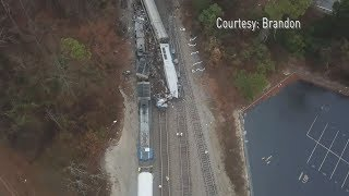 Video Drone Video | Amtrak Train Crash in South Carolina download MP3, 3GP, MP4, WEBM, AVI, FLV Juni 2018