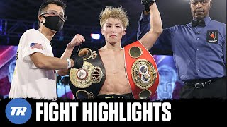 Naoya Inoue Retains WBA & IBF Belts with Highlight Reel KO over Jason Moloney | FIGHT HIGHLIGHTS