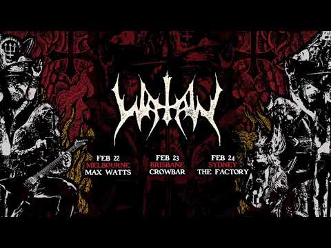 ERIK DANIELSSON from WATAIN talks about their upcoming Australian tour