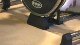 dixson bass drum lift with traps drums