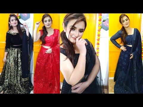 Designer Lehenga Choli Buy Online / Party Wear Lehenga Choli / Kreeva.com / SWATI BHAMBRA