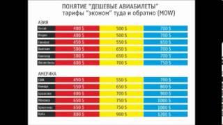 видео Авиабилеты Москва — Астана