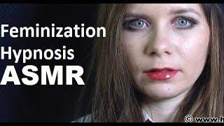 Feminization Hypnosis: Hypnotize to wear lipstick, high heels …