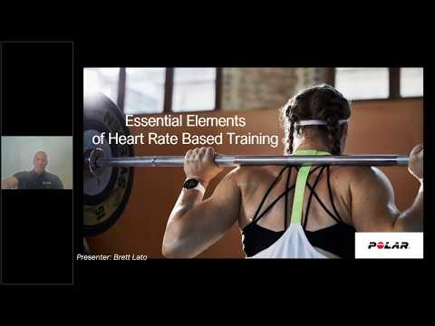 Industry-Presented Webinar: Essential Elements of Heart Rate Based Training