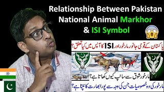 Indian Reaction on Relationship Between Pakistan National Animal Markhor and ISI Symbol   ISI Symbol