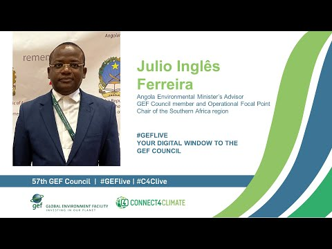 Julio Ingles Ferreira at GEF Live - Your digital window to the 57th Council