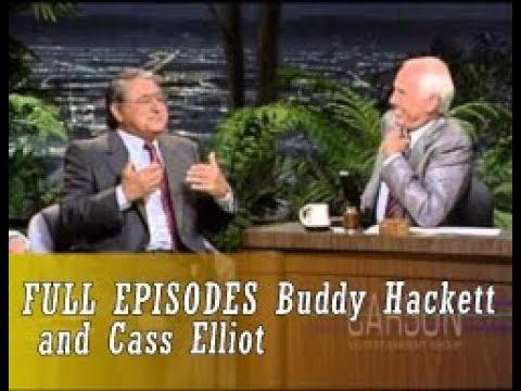 Johnny Carson 1974 05 07 Buddy Hackett and Cass Elliot