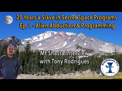 20 Years a Slave in Secret Space Programs - Pt 1 - Abduction