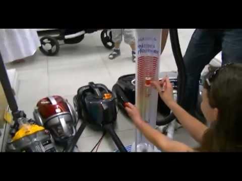 Измерение мощности пылесосов