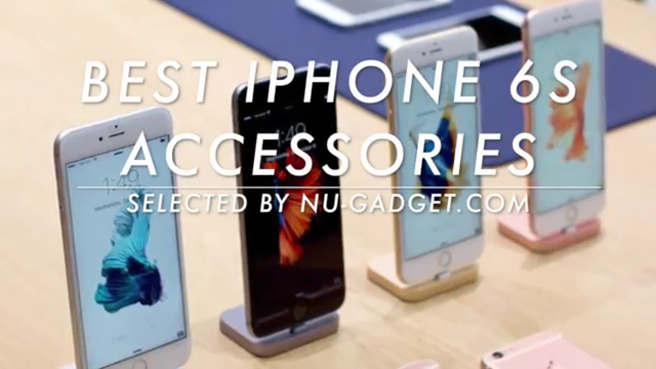 buy popular c3f29 42f38 Hands on with the best iPhone 6S accessories