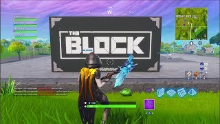 FORTNITE -SEASON 7 WHAT HAPPENED TO RISKY!! THE BLOCK???