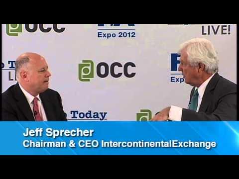 Jeff Sprecher, Chairman & CEO, IntercontinentalExchange