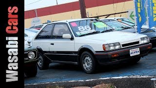 Cars of Alpha: 1985 Mazda Familia GT-X 4WD - 323/GLC