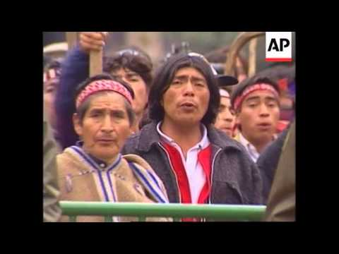 CHILE: MAPUCHE PEOPLE CAMPAIGN FOR LAND RIGHTS
