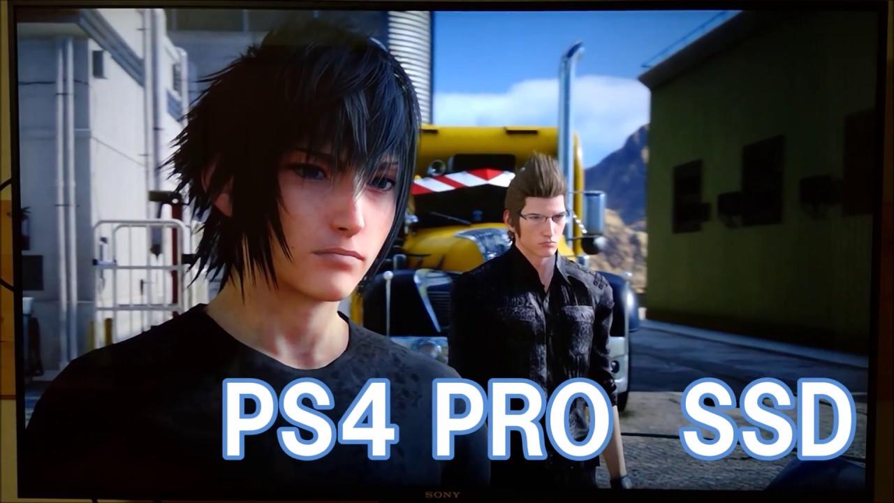 【PS4 PRO】FF15 通常版PS4と比較 バトル編 FINAL FANTASY15 2016,