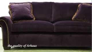 Arhaus Custom Upholstered Furniture - Relax in luxury