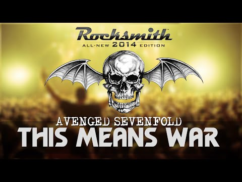 THIS MEANS WAR - AVENGED SEVENFOLD | Rocksmith 2014 Custom Song | Guitar Cover [Rhythm]