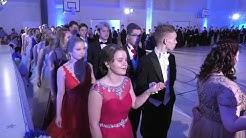 Vanhojen tanssit Porin Lyseon lukiossa 7.2.2020