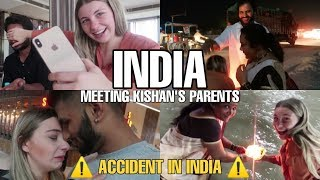 Meeting my Indian boyfriend's parents || India vlog ||