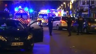TERRORISTS ARE ATTACKING PARIS KILLING LOTS OF PEOPLE RIGHT NOW!!!