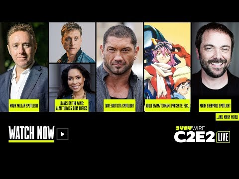 Firefly, Dave Bautista, Mark Millar | C2E2 Panel Rm 1 (Day 1) | SYFY WIRE