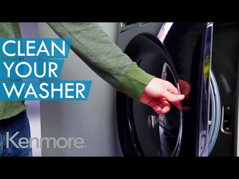 How to Clean Your Washing Machine: Kenmore Clean Washer Cycle