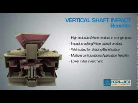 Роторные дробилки KPI-JCI с вертикальным валом