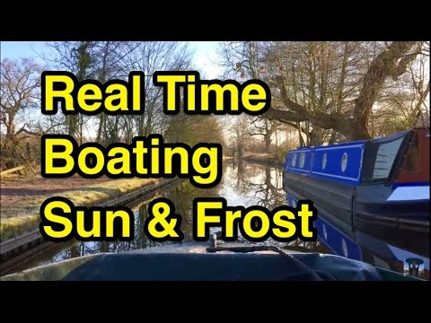 RTB: Perfect Frosty Morning Real Time Canal Boating
